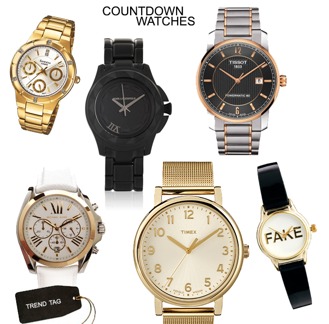 Trend Tag: Countdown Watches