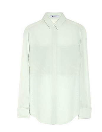 Best Budget Buy: T by Alexander Wang silk shirt