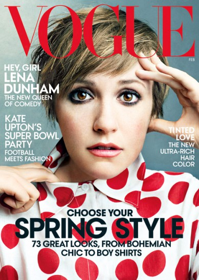 Video: Lena Dunham preps for Vogue