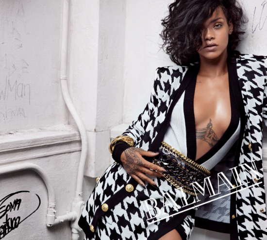 Video: Backstage Rihanna for Balmain