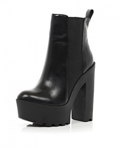 Best Budget Buy: Chunky Black Boots