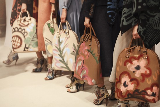 Backstage at the Burberry Prorsum Womenswear Autumn_Winter 2014 Show in Londo_012