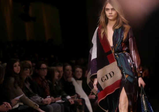 The Fashion Eye: Burberry's Bloomsbury Girls