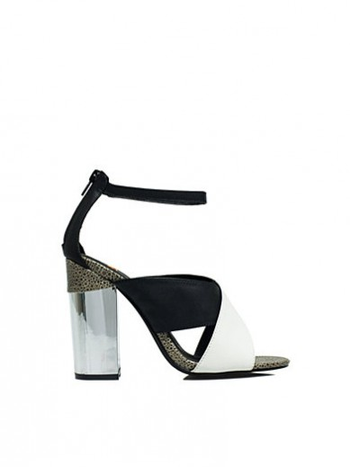 Best Budget Buy: Leighton Meester for Nelly Cut-Out Block Sandal