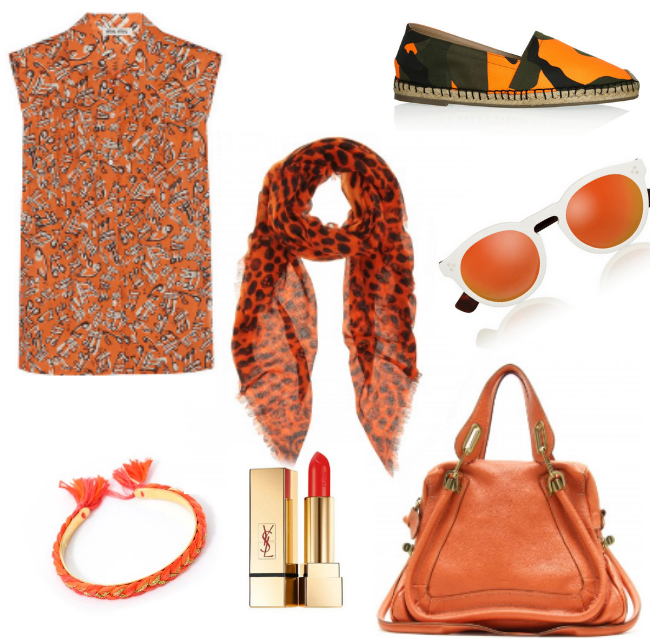 Friday Fashion Envy: Color me Orange