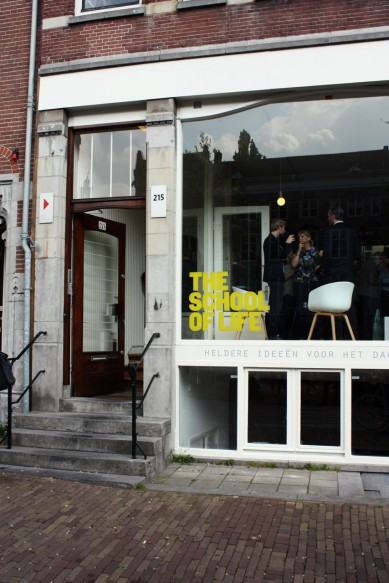 In the NOW: The School of Life Amsterdam