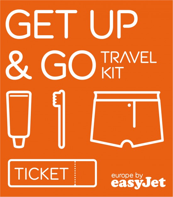 In the NOW: Get up & GO! with easyJet