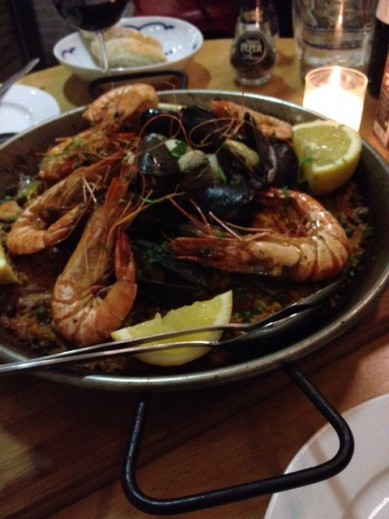 Thursday Treat: Mercat's Paella Española