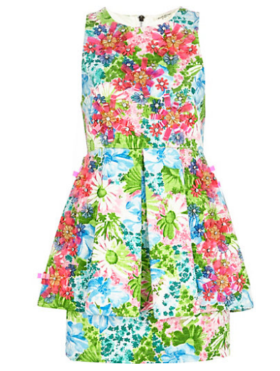 Best Budget Buy: Floral 3D peplum dress