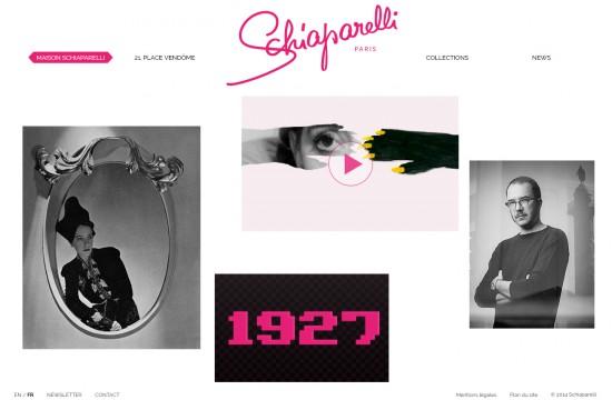 Schiaparelli - website HD