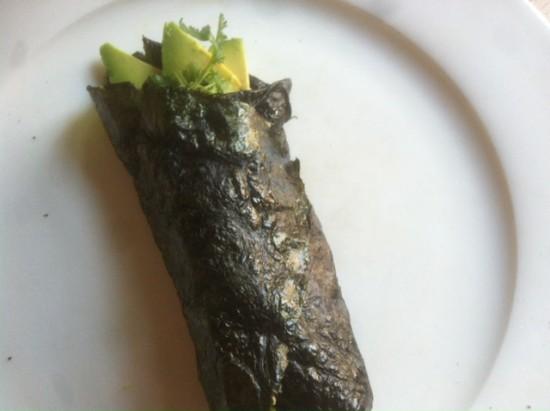 So deliciously Sophie: Nori wrap with avocado