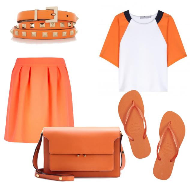 Friday Fashion Envy: Orange Fever