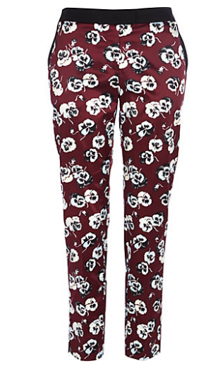 Best Budget Buy: Floral print slim pants