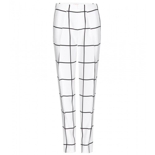 Friday Fashion Envy: Chloé Checked Trousers