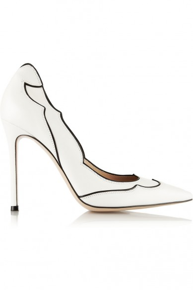 Friday Fashion Envy: Gianvito Rossi Two-Tone Pumps