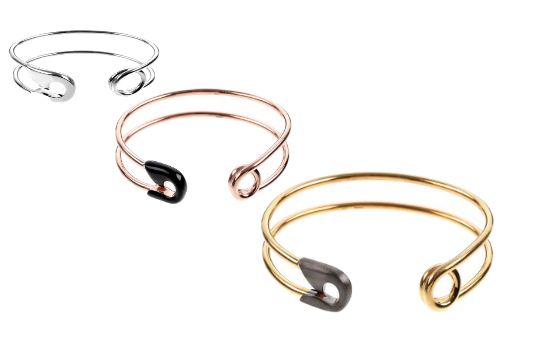 Wednesday Wannahave: Ileana Makri Safety Pin bracelet