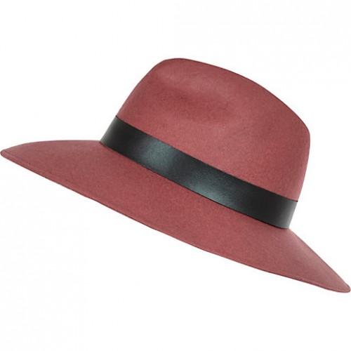 Best Budget Buy: Dark Pink Fedora Hat
