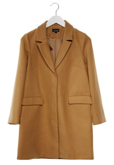 Best Budget Buy: Topshop Camel Coat