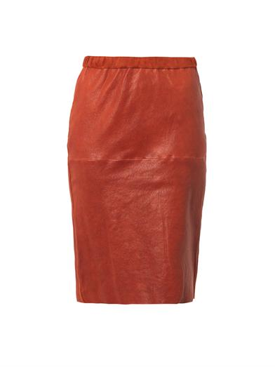 Friday Fashion Envy: Isabel Marant Leather Pencil Skirt