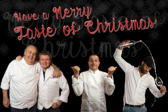 Celebrating Christmas on a Michelin Star level with chef Alain Caron