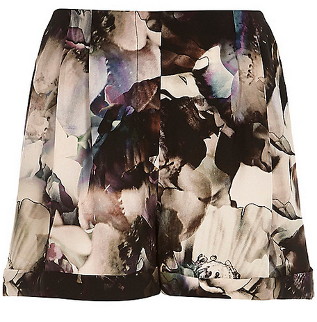BBB_abstract-floral_print-shorts