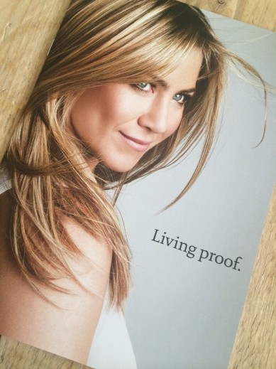 Do you want Jennifer Aniston hair? Try Living Proof!