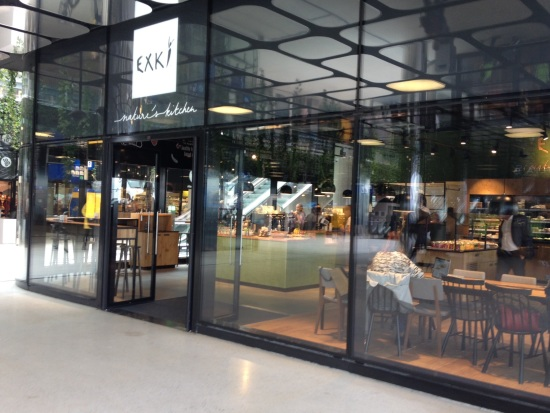 New in town: EXKi -healthy lunch and take-away
