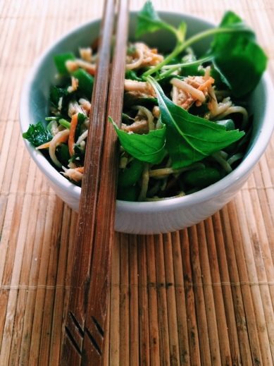 Thursday Treat: Japanese noodle and mackerel salad