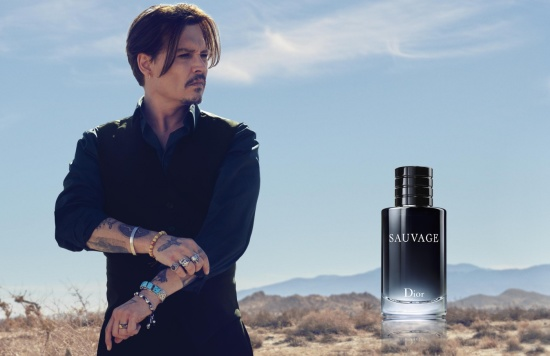 JohnnyDepp-sauvage1